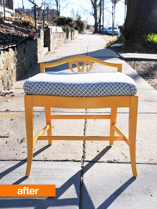 Easy Re-Upholstery