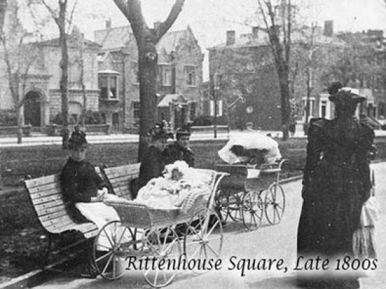 Rittenhouse in the late 1800s