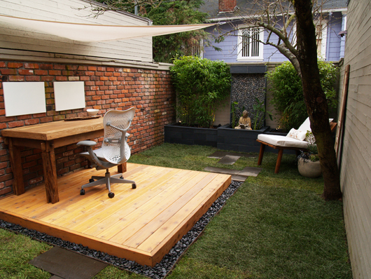Backyard Outdoor Office